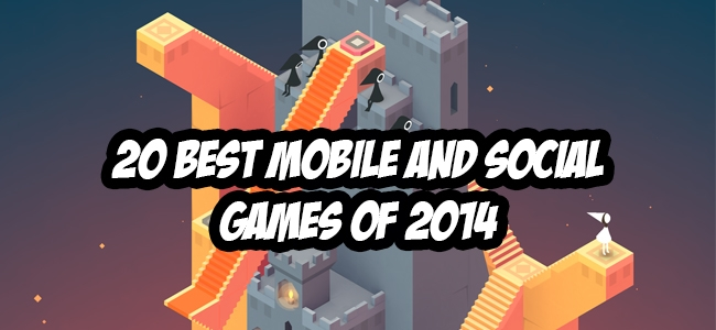 The 20 Best Mobile and Social Games of 2014 - Overmental