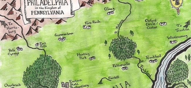 Add A Little Epic To Your Neighborhood By Rendering It As A Tolkien