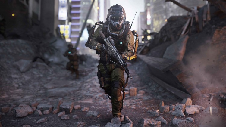 Call of Duty Advanced Warfare Screen