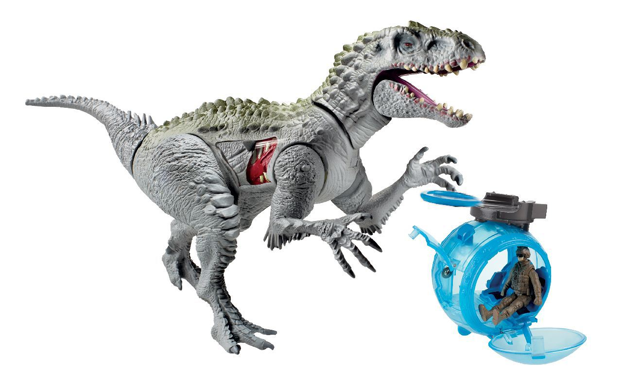 Jurassic world 39 s big bad dino revealed in toy form - Dinosaure jurassic world ...