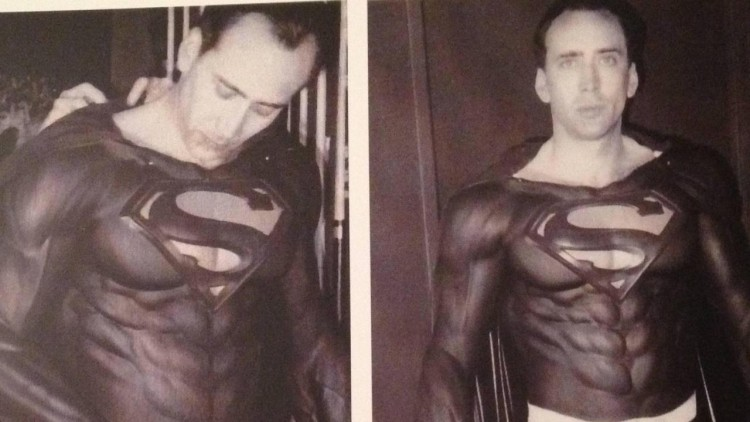 nic cage superman