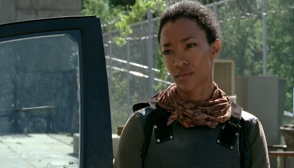 The Walking Dead Sasha