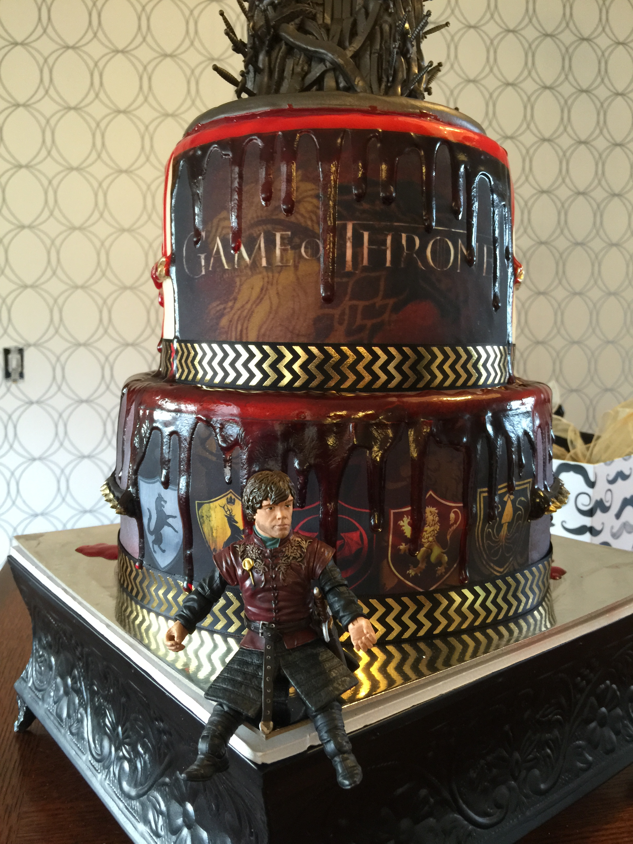 This Incredible Game Of Thrones Cake Looks Bloody