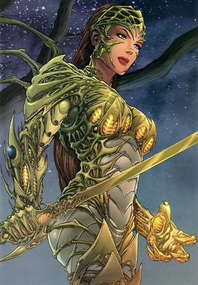 Funny Books: Oh Boy! I Can FINALLY Talk About Witchblade ...