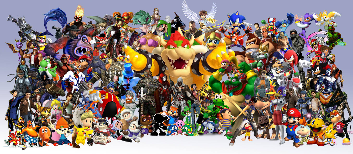 Image result for gaming characters