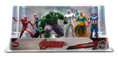 age of ultron toy set with captain marvel 2