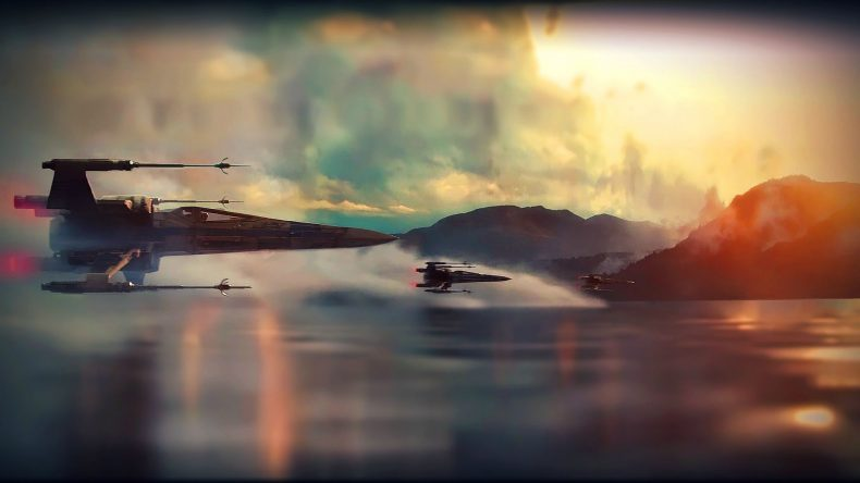 force awakens xwings