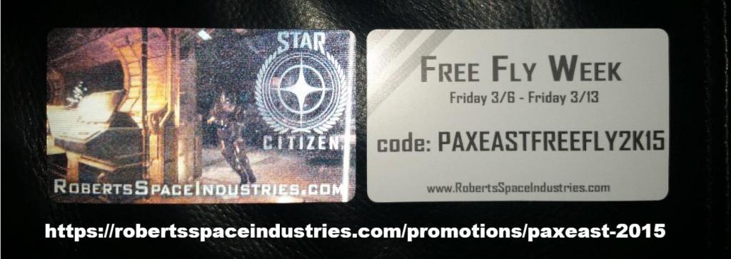 free fly week star citizen