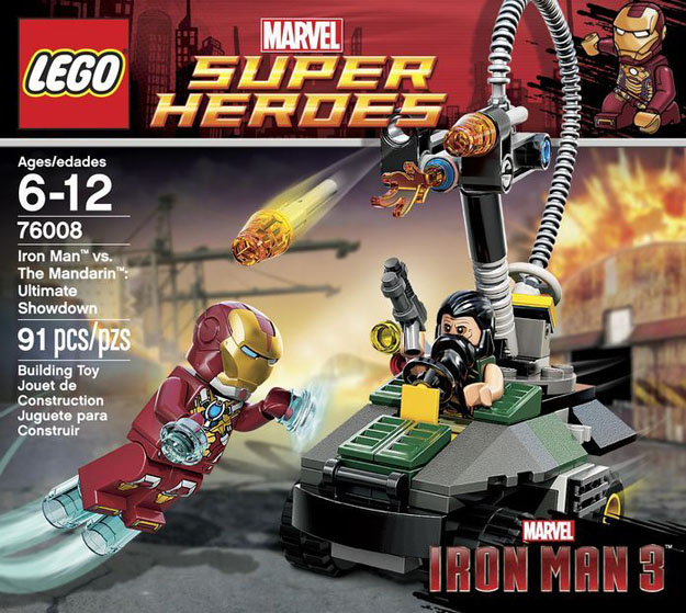 mandarin ultimate showdown lego iron man 3