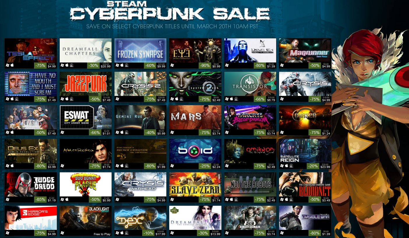The Steam marketplace has a massive library of PC titles, and, like a lot of other online retailers – Amazon comes to mind – runs ongoing sales and deals on countless games throughout the year.