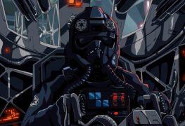 tie fighter star wars fan animation