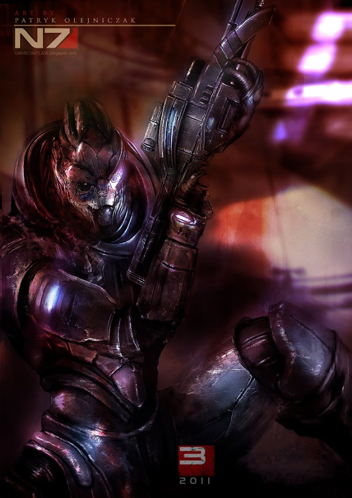 Mass Effect 3 Garrus