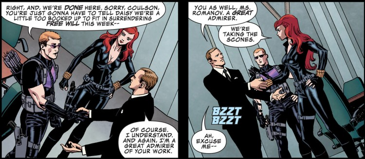 secret avengers coulson