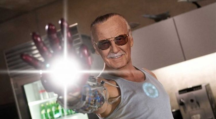 stan lee as iron man