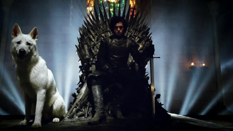 Jon Snow Iron Throne