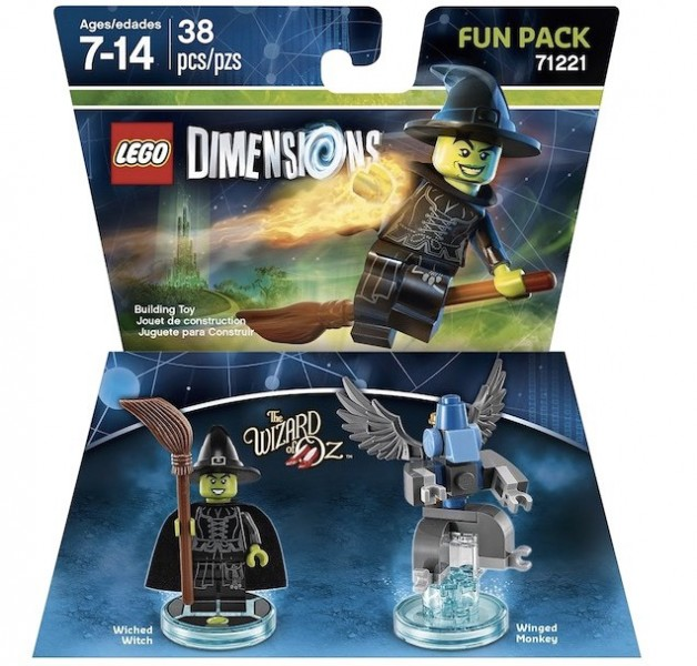LEGO Dimensions Expansion Packs (3)