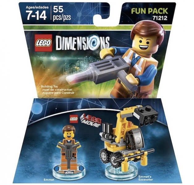 LEGO Dimensions Expansion Packs (4)