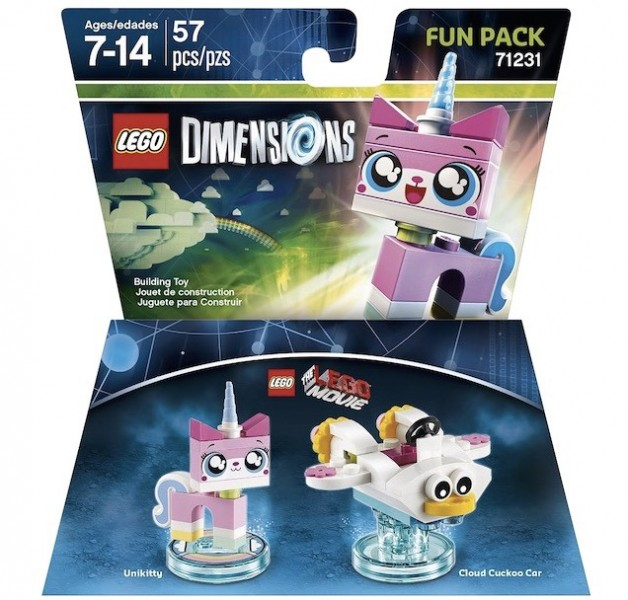 LEGO Dimensions Expansion Packs (6)