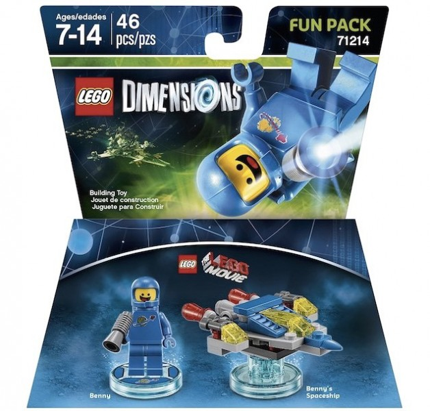 LEGO Dimensions Expansion Packs (7)