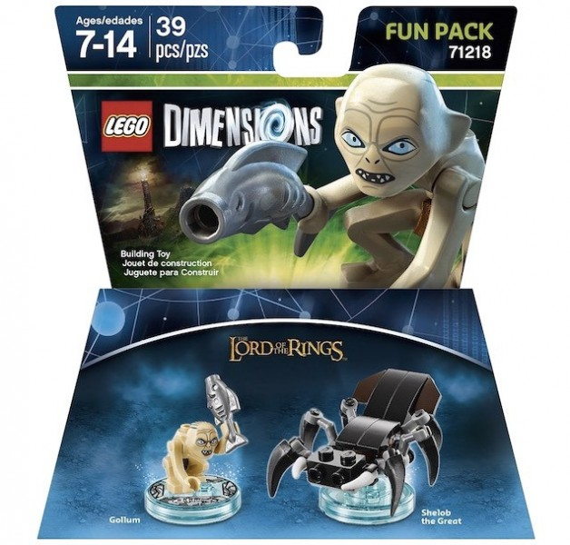 LEGO Dimensions Expansion Packs (8)