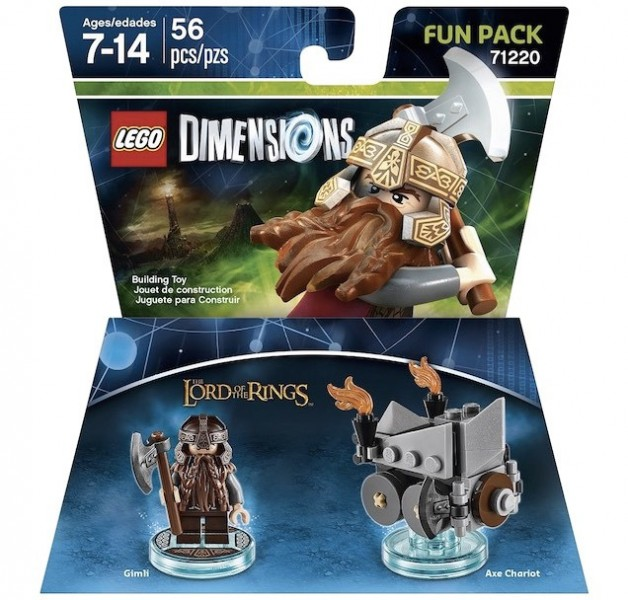 LEGO Dimensions Expansion Packs (9)