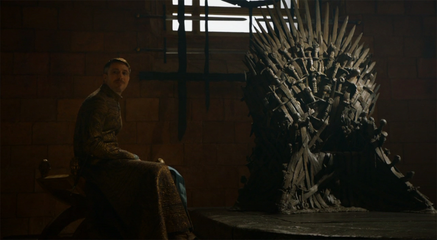 Littlefinger Iron Throne