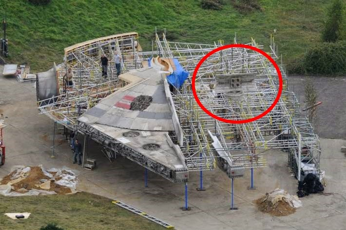 Force Awakens Trivia Millennium Falcon S New Dish Was