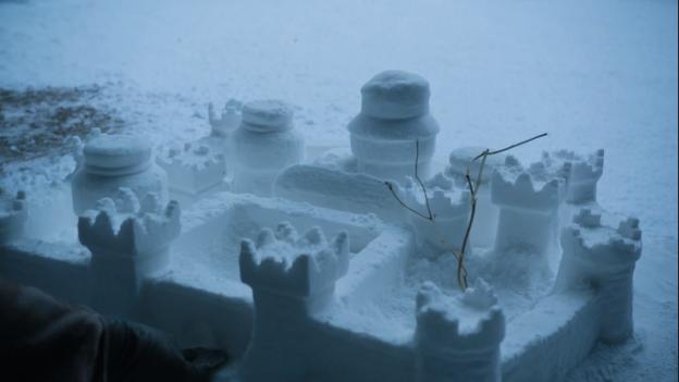 Snow Castle Winterfell