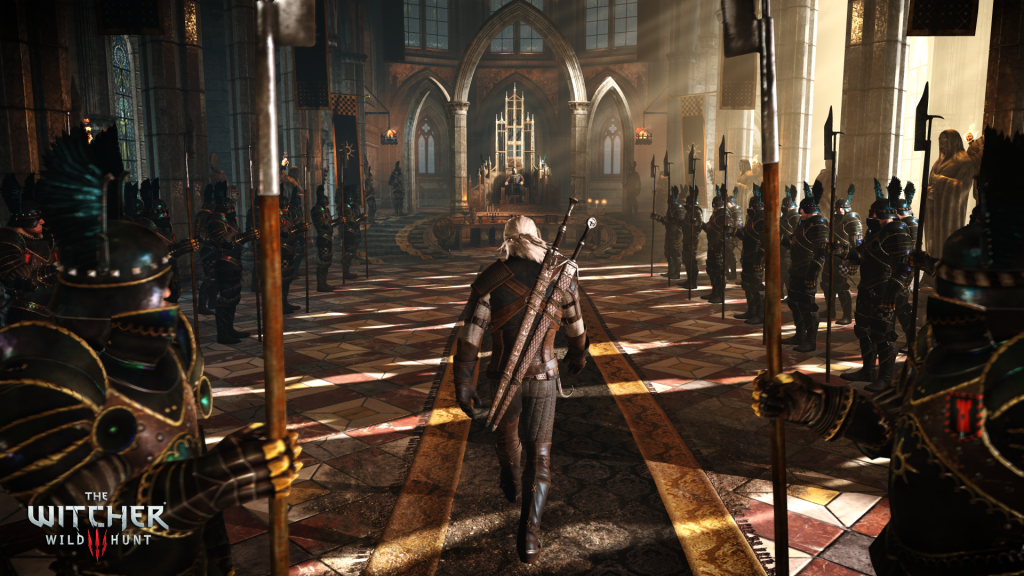 Witcher 3 throne room