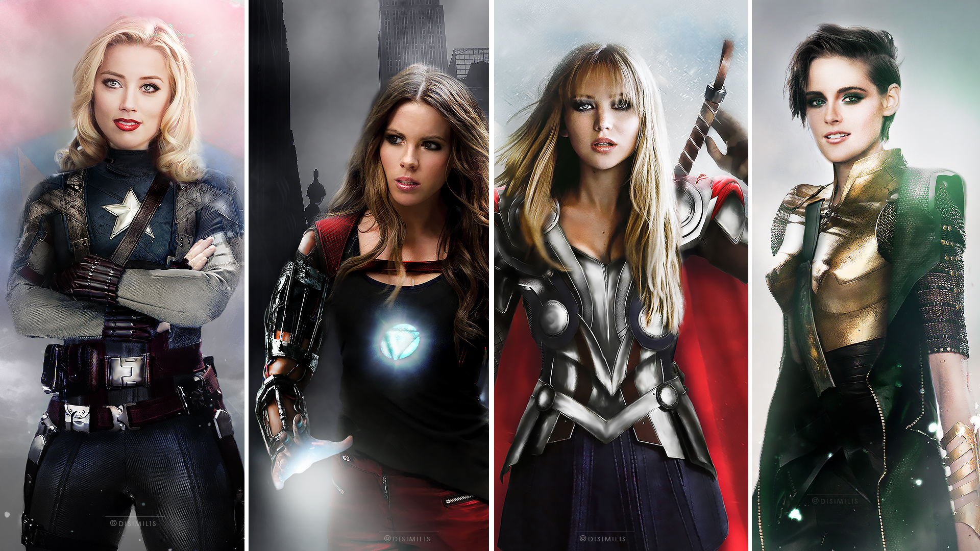 Genderswapped Avengers Casting is Just Perfect - Overmental  Genderswapped A...