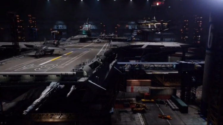 helicarrier 64 agents of shield