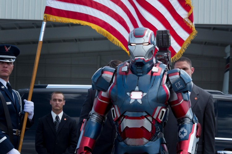 iron patriot iron man 3