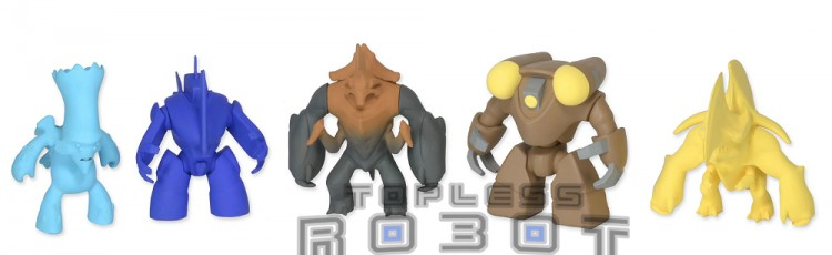 pac rim mini figs 2