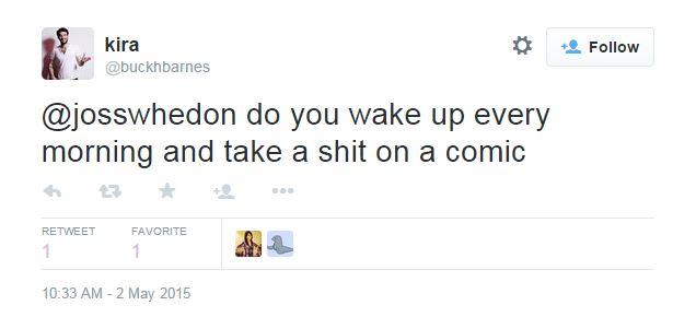whedon tweets 1