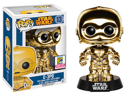 Chrome C-3PO Gold