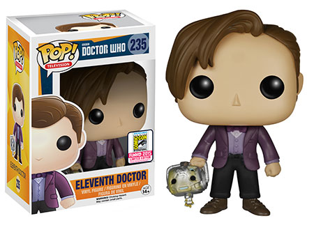 Doctor Who - Eleventh Doctor holding Cyberman Head