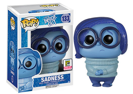 Inside Out - Sparkle Hair Sadness