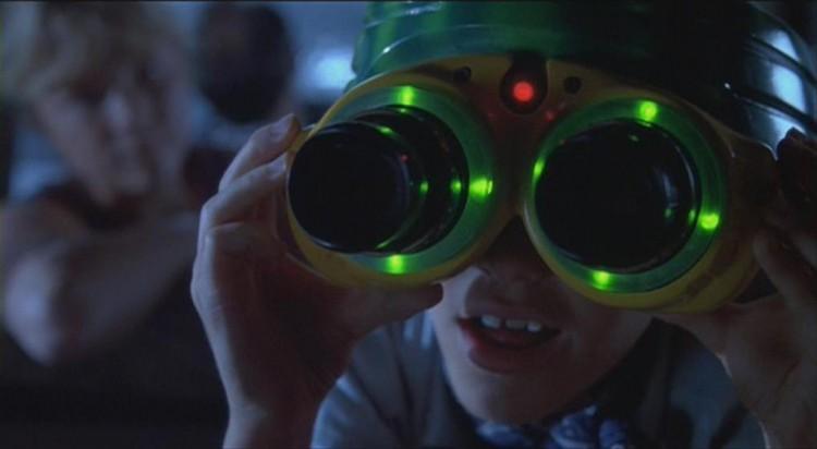 Night Vision Goggles Jurassic Park