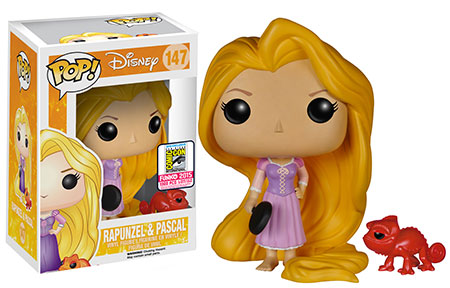 Tangled - Frying Pan Rapunzel and Red Pascal
