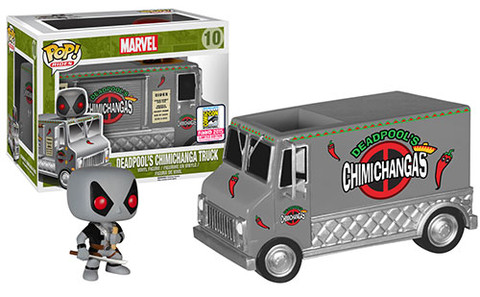 X-Force Deadpools Chimichanga Truck