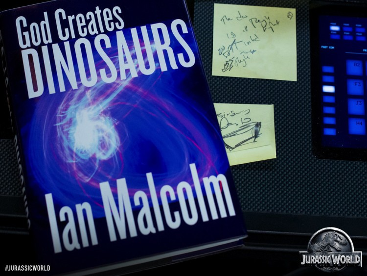 ian malcom book jurassic world
