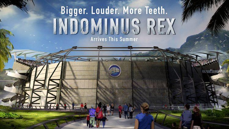 jurassic world indominus rex poster