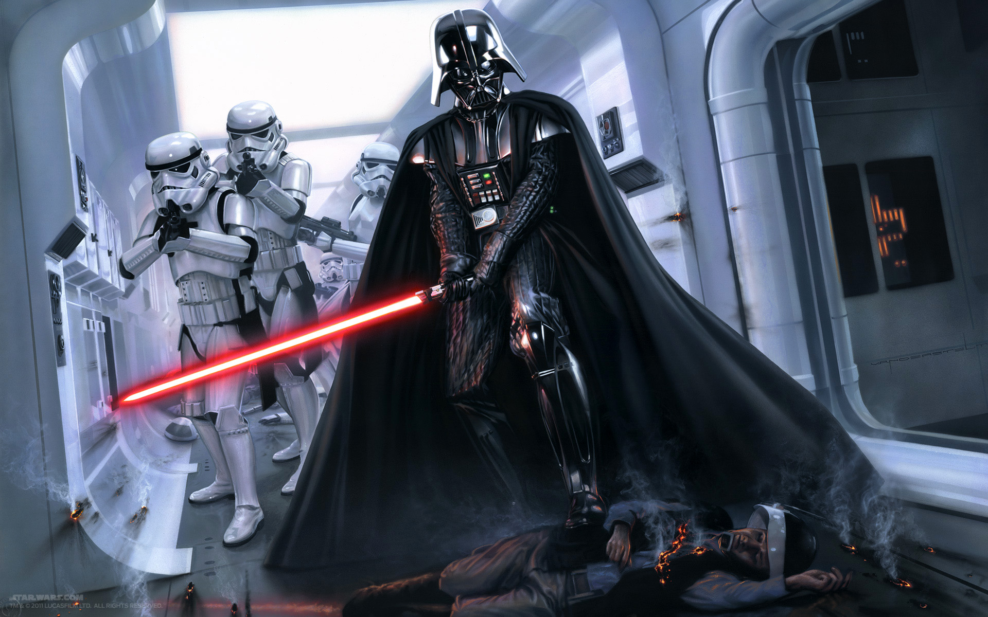 How Will Darth Vader Show Up In Star Wars Rogue One Overmental