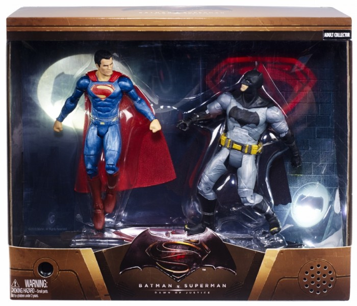 batman v superman Mattel Action Figure 2-Pack
