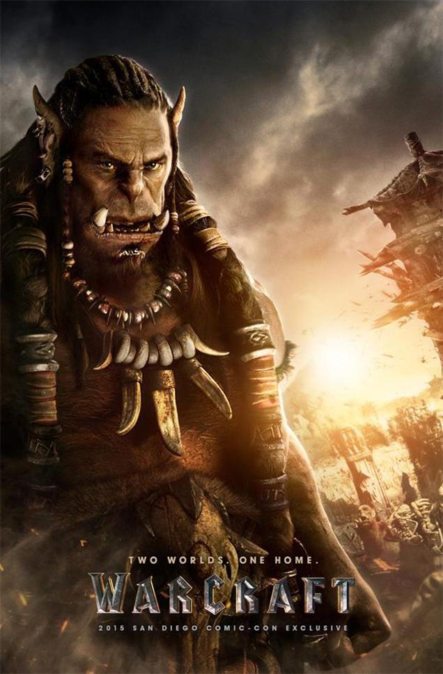 warcraft poster orcs