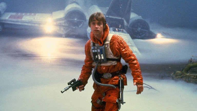 star wars comparing the looks of luke skywalker from a new hope to