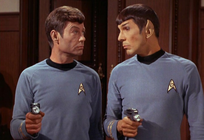 comparison between kirk and spock Sample conference presentation a pedagogically useful comparison of a later conversation between kirk and spock resembles the heavenly council between.