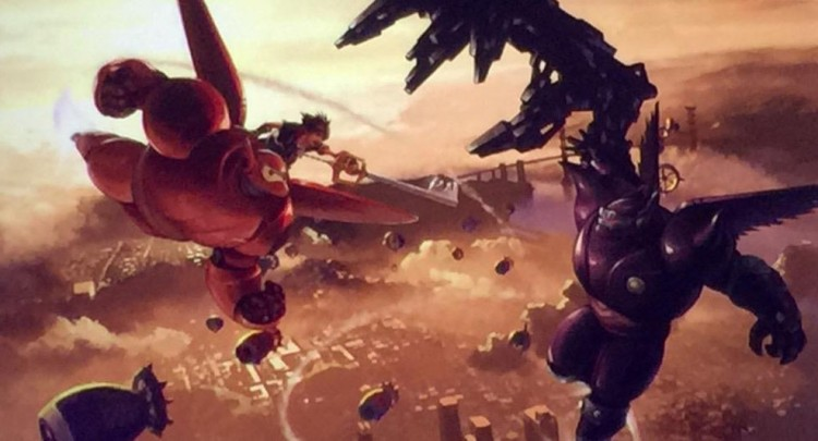 big hero 6 kingdom hearts 3 concept art