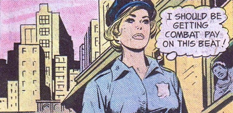 lady cop dc comics