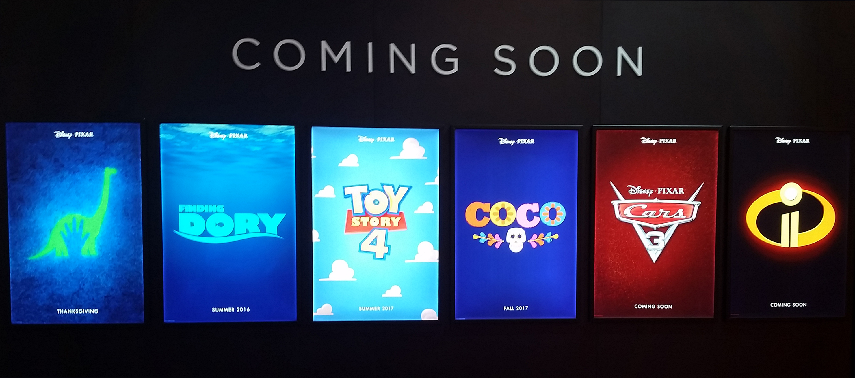 Upcoming 2017 Movie Posters: D23: The Full Poster Lineup For Pixar's Upcoming Slate